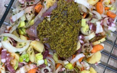 Rôti ardennais aux petits légumes